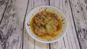 豚肉のカレースープ