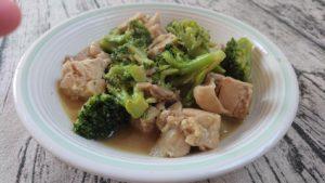 鶏肉とブロッコリーの中華炒め