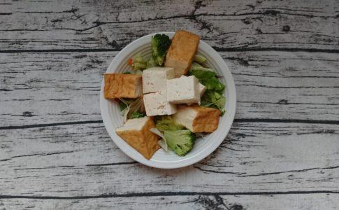 豆腐サラダ