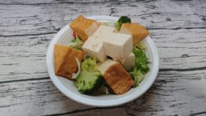 畑の肉サラダ