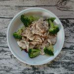 豚肉とレタスのワンプレートサラダ