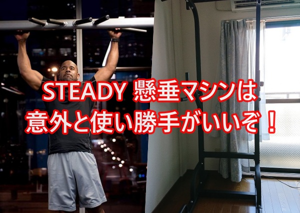 STEADY 懸垂マシンのレビュー